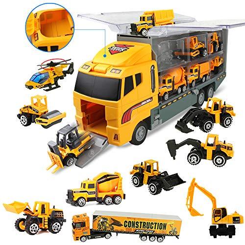 Coolplay LKW Spielzeug Auto Set Autotransporter Spielzeug Baustelle...