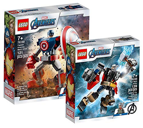 Collectix Lego Set - Marvel Avengers Captain America Mech 76168 +...