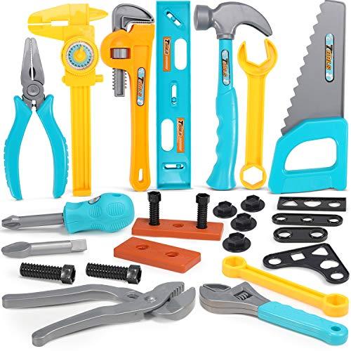 GeyiieTOYS Kinder Werkzeug Kinderwerkzeug Spielwerkzeug Spielzeug...