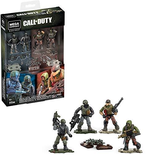 Mega Construx - Call of Duty GKW18 - Special Ops vs Jungle Mercenaries...