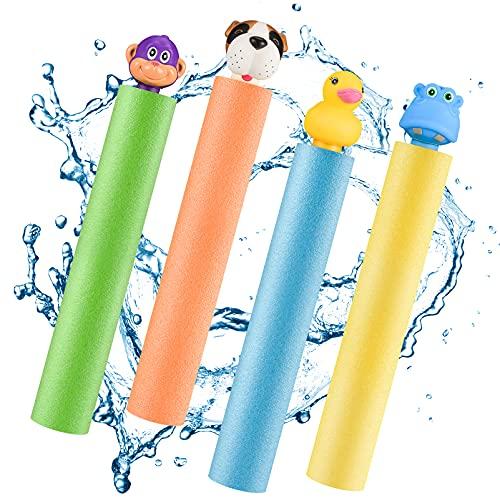 Let's Arezooo Wasserpistolen für Kinder, Wasserspielzeug Garten...