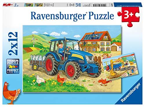 Ravensburger Kinderpuzzle - 07616 Baustelle und...