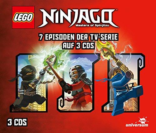 Lego Ninjago Hörspielbox 4
