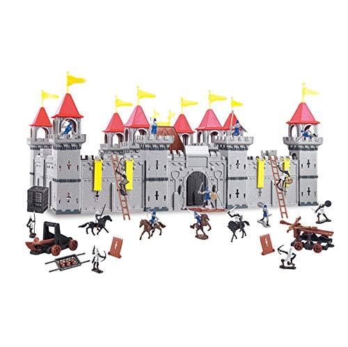 TikTakToo Coole, große Ritterburg mit Spielfiguren Königreich Burg Schloss