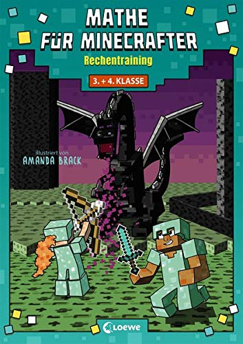 Mathe für Minecrafter - Rechentraining: Mathematik-Nachhilfe für...
