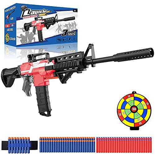 Spielzeug Pistole elektrisch für Nerf Gun Pfeile, motorisierter...