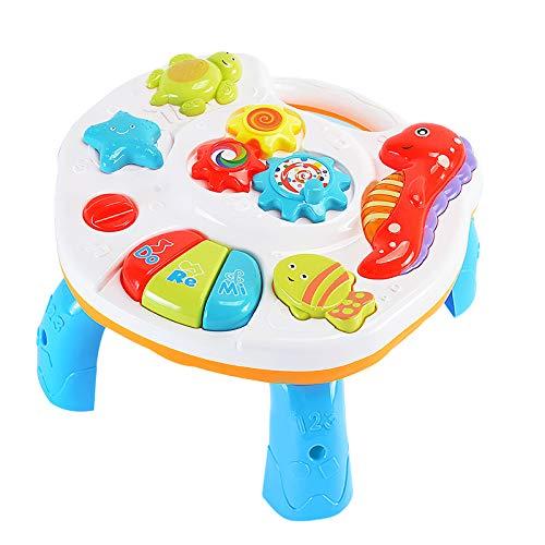 Yooyg Lerntisch Baby Spielzeug, 2-in-1 Spiel- und Lernaktivitätstisch...