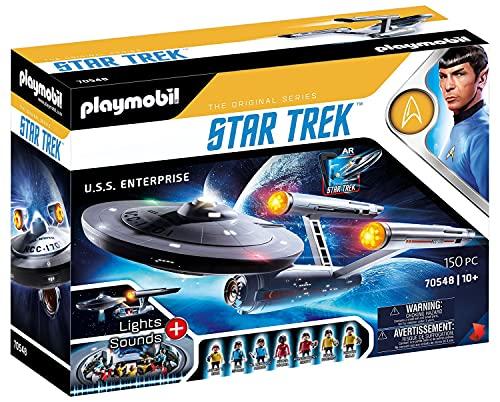 PLAYMOBIL Star Trek 70548 U.S.S. Enterprise NCC-1701, Mit AR-APP,...