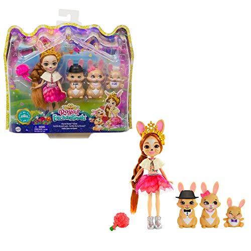 Enchantimals GYJ08 - Familien-Spielzeugset mit Hasenmädchen Brystal...