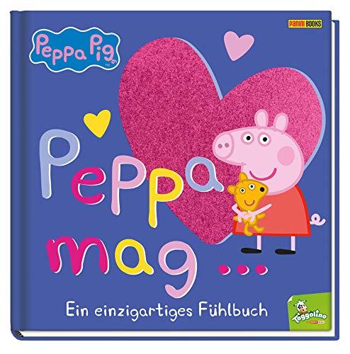 Peppa Pig: Peppa mag… - Ein einzigartiges Fühlbuch: Pappbilderbuch...