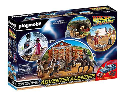 PLAYMOBIL Adventskalender 70576 Back To The Future III mit...