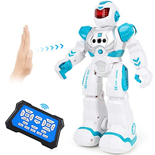 Auney Roboter Spielzeug für Kinder, intelligente programmierbare...