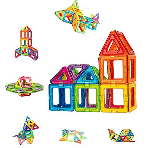 Condis Magnetische Bausteine 42 Teile Magnetspielzeug Magnete Kinder Magnetbausteine Magnet Spielzeug Kinder...