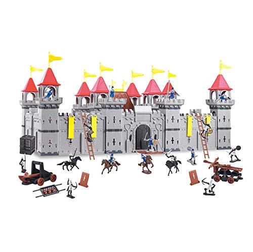 TikTakToo Coole, große Ritterburg mit Spielfiguren Königreich Burg...