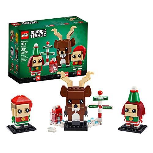 LEGO 40353 Brickheadz Rentier und Elfen