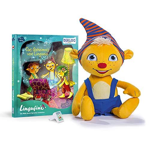 Lingufino Basis Set Lernspielzeug für Kinder, Sprechendes Plüsch...
