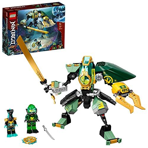 LEGO 71750 NINJAGO Lloyds Hydro-Mech, Unterwasser Set, Spielzeug für...