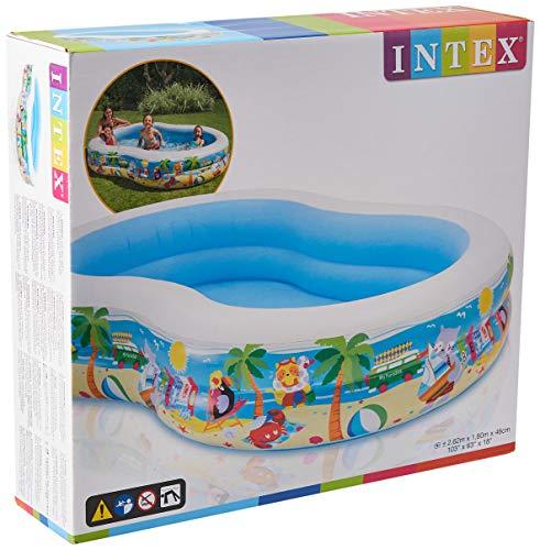 Intex Swim Center Seashore Pool - Kinder Aufstellpool - Planschbecken...