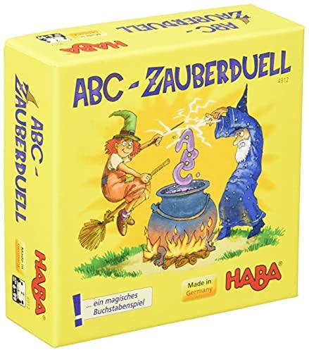 Haba 4912 - ABC Zauberduell, Lernspiel ab 6 Jahren zum...