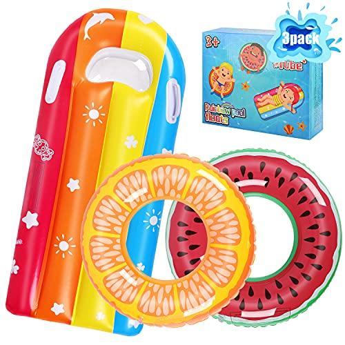 ARANEE Schwimmring Donut Kinder Schwimmreifen Luftmatratze Aufblasbare...