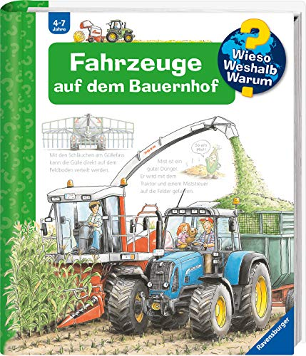 Wieso? Weshalb? Warum? Fahrzeuge auf dem Bauernhof (Band 57) (Wieso?...