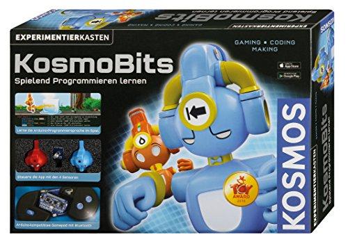 KOSMOS 620141 - KosmoBits Spielend Programmieren lernen, Gaming Coding Making mit Arduino, Experimentierkasten