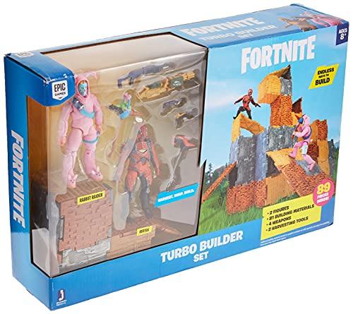 FORTNITE FNT0115 Turbo Builder Set mit Spielfiguren Rabbit Raider und...
