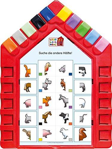 Logo Lernhaus: Set 1 Kinderwissen 3-4-jährige Kinder: Mein Lernsteckspiel: Spielen - Lernen - Kontrollieren /...