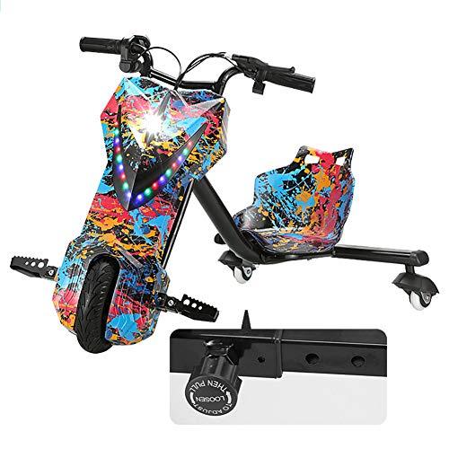 Elektrische Drift-Trikes Kart Electric Scooter 3-Stufiges Design Mit...