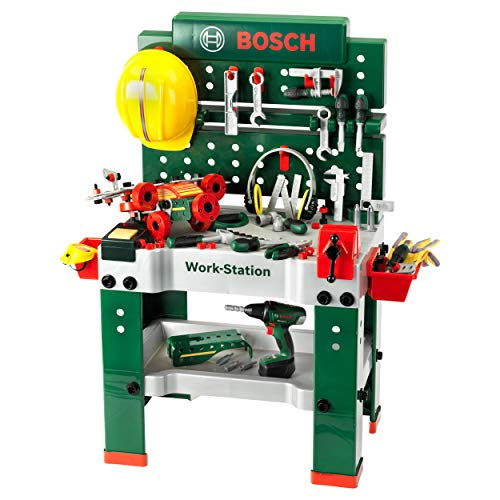 Theo Klein 8485 Bosch Werkbank Nr. 1 I 150-teilig I...
