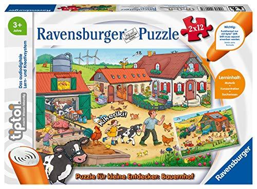 Ravensburger tiptoi 00066 Puzzle für kleine Entdecker: Bauernhof,...