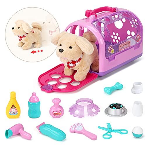 Sotodik Tierarzt Spielset mit Elektronisch Hund Hundesalon Spielzeug...