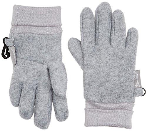Sterntaler Fingerhandschuhe für Kinder, Alter: 2-3 Jahre, Größe: 2, Silber meliert
