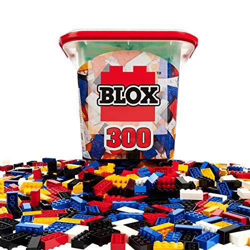 Simba 104114202 - Blox 300 Bausteine für Kinder ab 3 Jahren, 8er...