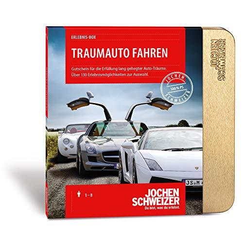 Jochen Schweizer Erlebnis-Box Traumauto Fahren, über 200 Erlebnisse...