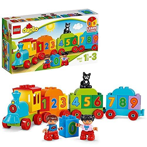 LEGO 10847 DUPLO Zahlenzug, preisgekröntes Bauset mit großen...