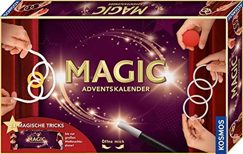 Kosmos MAGIC Zauber Adventskalender 2020, Spannende Zaubertricks,...