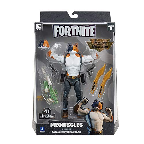 Fortnite FNT0666 Meowscles, No Color