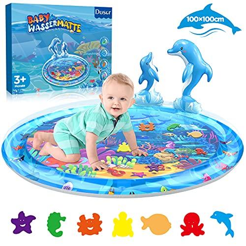 Dusor Wassermatte Baby Spielzeug 3 6 9 Monate, Wasserspielzeug...