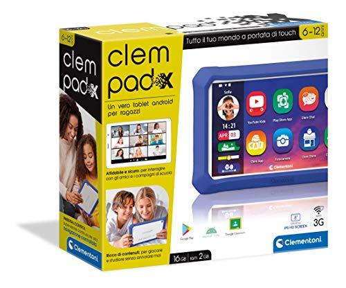 Clementoni - X Clempad X Tablet für Kinder, Mehrfarbig, 6 Jahre,...