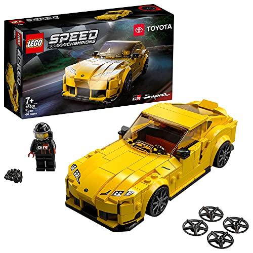LEGO 76901 Speed Champions Toyota GR Supra Rennwagen, Spielzeugauto,...