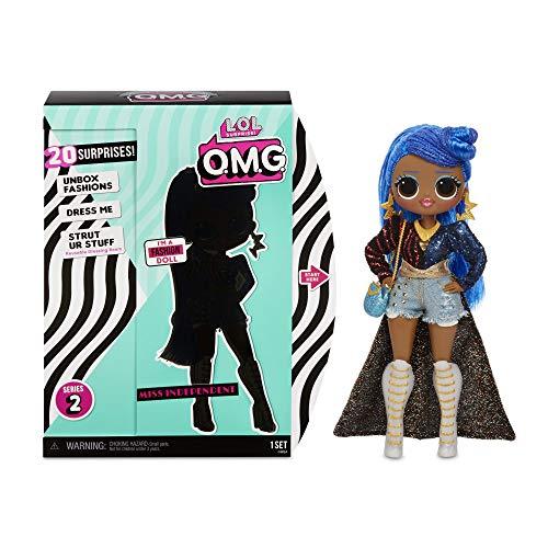 L.O.L. Surprise! 565130E7C O.M.G. Fashion Doll Miss Independent Series 2, Ankleide- und Sammelpuppe mit Haaren...