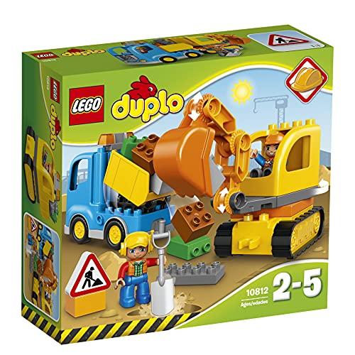 LEGO DUPLO 10812 - Bagger & Lastwagen | Kleinkind Spielzeug ab 2...