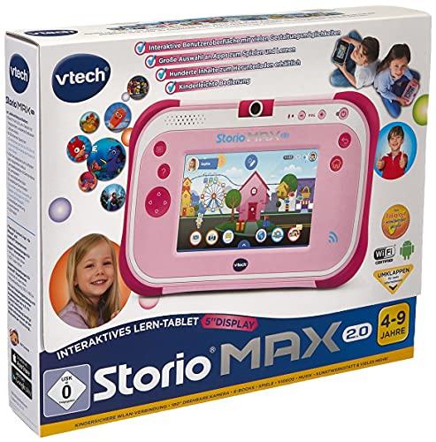VTech 80-108854 - Storio MAX 2.0 pink, Kindertablet, Lernspielzeug