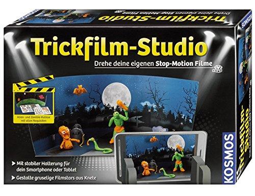 KOSMOS 676025 - Trickfilm-Studio, Drehe deine eigenen Stop-Motion-Filme, Experimentierkasten