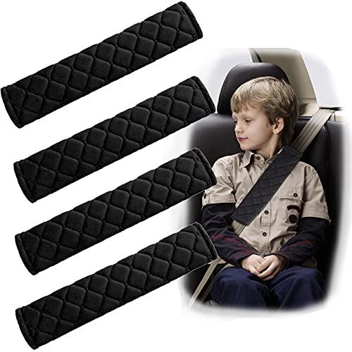 4 Stück Premium Gurtpolster Polsterung Sitzgurt im Auto...