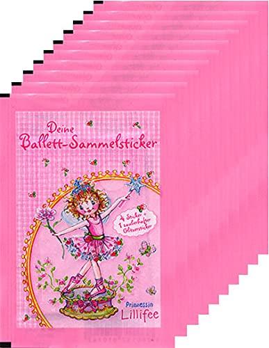 Generisch Prinzessin Lillifee - Ballett-Sammelsticker - 10 Tüten