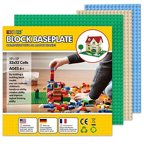 Grundplatten für Bausteine, 100 % kompatibel mit allen großen...