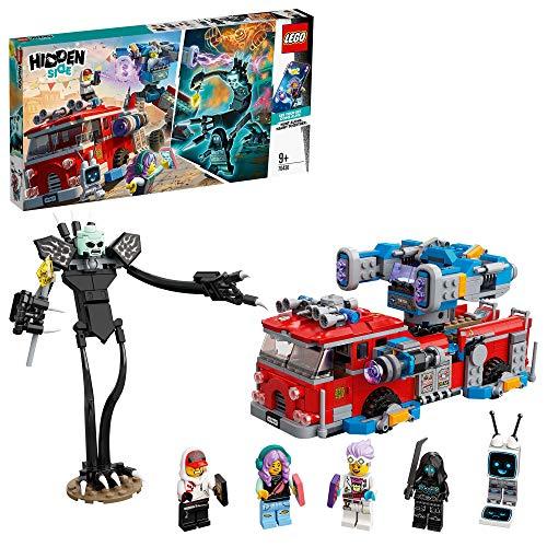 LEGO 70436 Hidden Side Phantom Feuerwehrauto 3000, Spielzeug, AR-App, interaktives Multiplayer Augmented...