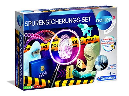 Clementoni 59125 Galileo Science – Spurensicherungs-Set,...